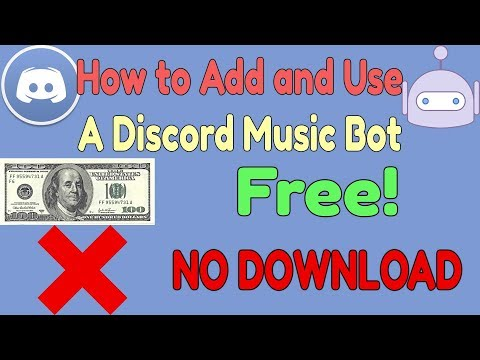 How to Add and Use a Discord Music Bot in Under 3 minutes (No download)(Free)