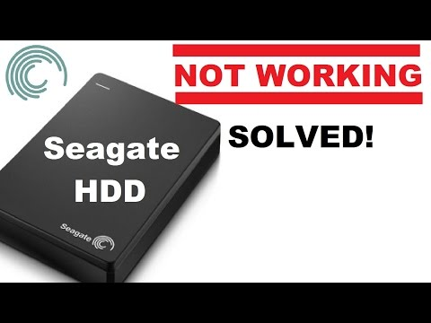 Seagate External Hard Drive Not Working With Windows 10 (Fixed / Solution)