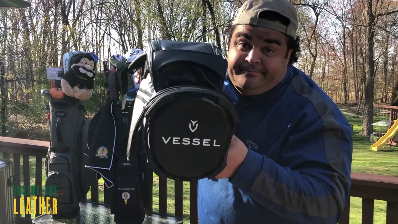 Ronnie's Reviews: Vessel Golf Bags