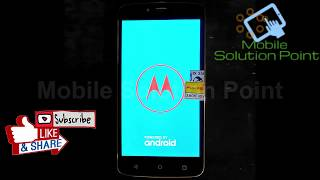 How to remove frp in moto c (mtk) with miracle but show