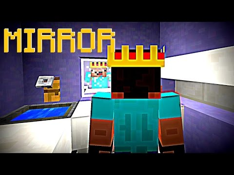 ✔ Minecraft - How to make a funny Mirror