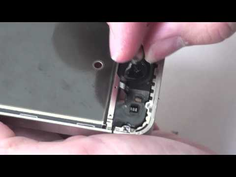 iPhone 4S Homebutton Removal - Installation