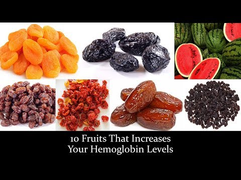 10 Fruits That Increases Your Hemoglobin Levels