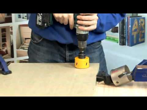 How To Operate A Hole Saw