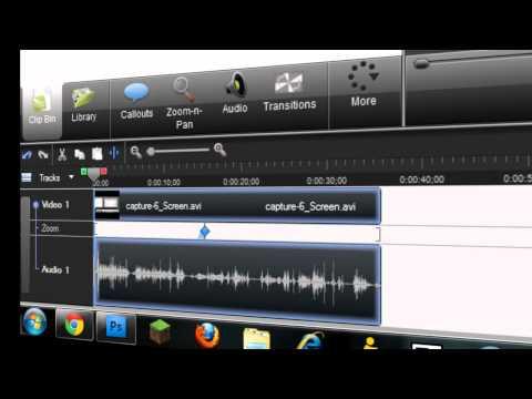 How to Unlink Audio from Video (vice versa). In Camtasia Studio 7