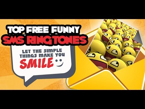 Top Free Funny SMS Ringtones Mobile App for Android™ Devices
