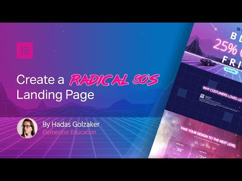 Special 80s Black Friday Tutorial [+free template & MEGA SALE]