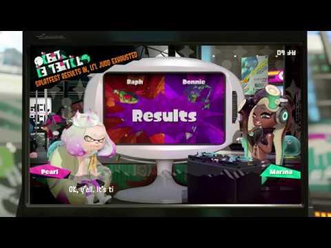 Splatoon 2 ~ Raph VS Donnie Splatfest Results!