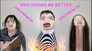 WHICH GIRLFRIEND KNOWS ME BETTER  (girlfriend vs girlfriend) *cousin and sister*