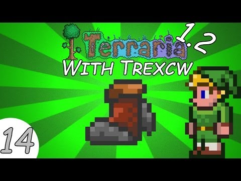 Terraria 1.2 with Trexcw - Episode 14- Rocket Boots