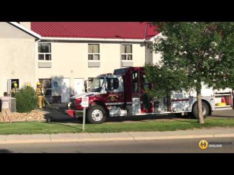 Emergency Crews Respond To Super 8 Fire Alarm