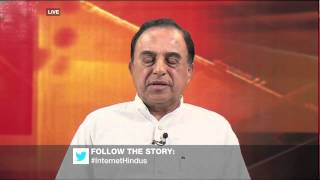 Dr Subramanian Swamy talks about Hindu India or Islamic India