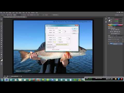 Adobe Photoshop CS6 Video 5: How to Change Image Size