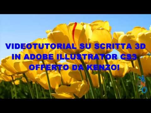 ILLUSTRATOR CS3: Scritta 3D