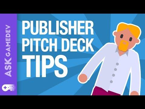Presentation Secrets for Impressing a Video Game Publisher