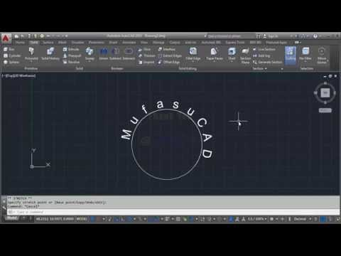 AutoCAD Text Around Arc with Arctext