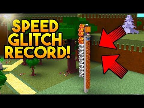 *NEW* SPEED GLITCH RECORD (3 Seconds Finish!)   Build A Boat For Treasure ROBLOX