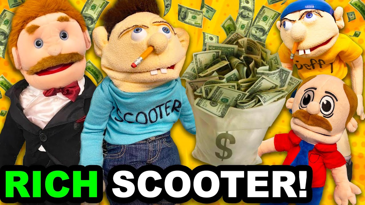 SML Movie: Rich Scooter!