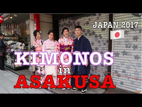 ASAKUSA |  Wearing Kimonos at Sensoji & Checking Out Shibuya Crossing!