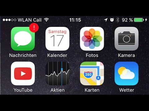 iOS 10 WLAN Call - WiFi Calling