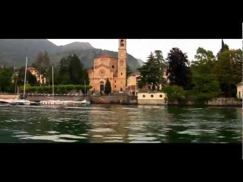 Lake Como, Milano, Italy. Lake Lugano, Switzerland