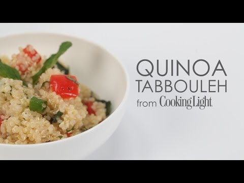 How to Make Quinoa Tabbouleh | MyRecipes