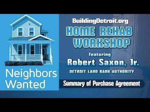 NEIGHBORS WANTED: HOME REHAB WORKSHOP