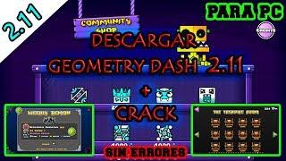 descargar geometry dash 2.1 para pc todo desbloqueado sin errores