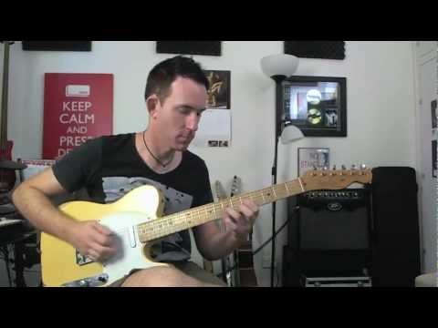 Improve Picking Accuracy - String Skipping Guitar Lick Lesson