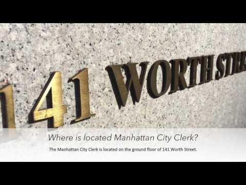 Ep. 8 GMINYC | Manhattan's City Clerk | Getting Married in New York City