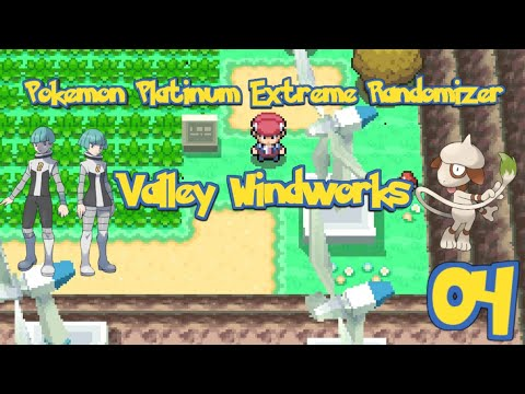 Pokemon Platinum Extreme Randomizer Episode 4 - Valley Windworks