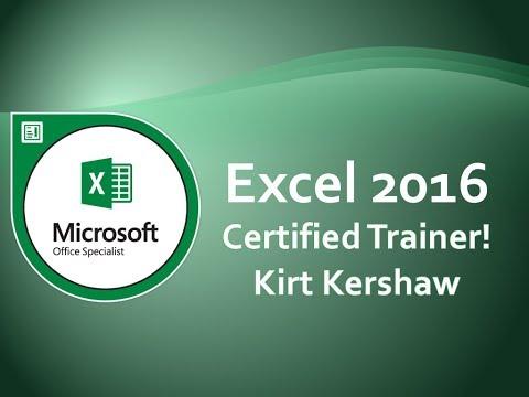 Excel 2016 Customizing the Ribbon