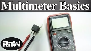 Download How to Use a Multimeter for Beginners - How to Measure Voltage, Resistance, Continuity and Amps Video