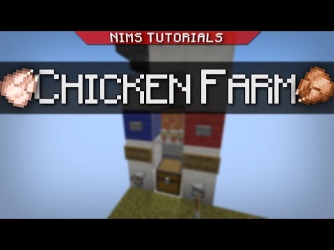 NIMSTUT - ULTIMATE CHICKEN FARM (Works on Xbox & Skyblock)