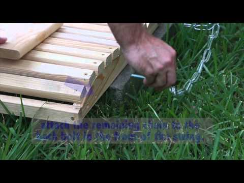 How to Assemble a Porch Swing