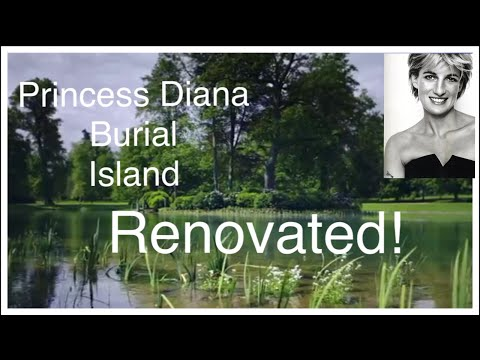 See How Princess Diana Burial Island Has Been Renovated Following Years Of Neglect