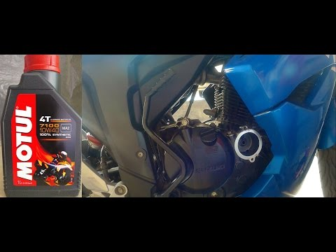 How To Change Engine Oil And Filter Of Suzuki Gixxer 155 & SF (Complete Guide)