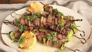 Steak Kebabs with Chimichurri | Ep. 1274