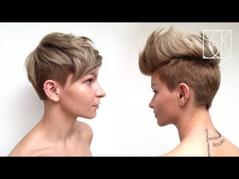 PIXIE HAIRCUT - tutorial by Barber Girl