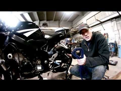 How To: 2005 GSXR 600 Chain Install