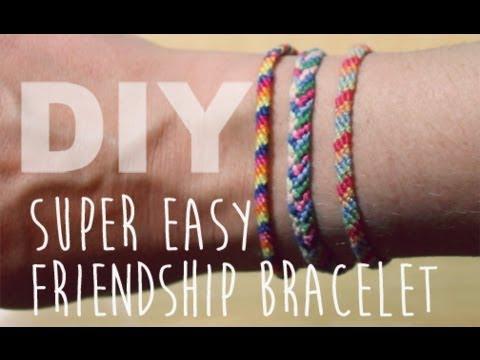 DIY Easy Friendship Bracelet | ArtsyPaints