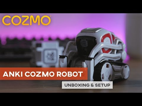 This Cute Little Robot Knows My Name –Anki Cozmo AI Robot Unboxing & Setup
