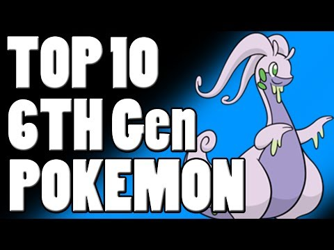 Top 10 6th Gen Pokemon For Competitive Battling!