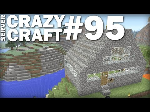 MINECRAFT PS4 - SMALL FARM / HOUSE - CRAZY CRAFT #95 - PS3 / XBOX - LETS PLAY