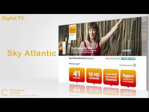 Why choose Sky for your Digital TV, broadband and