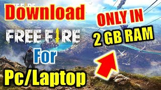 free fire download for laptop