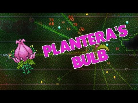 Terraria - HOW TO FIND PLANTERA'S BULB