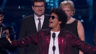 Download Bruno Mars Wins Record Of The Year | Acceptance Speech | 60th GRAMMYs Video