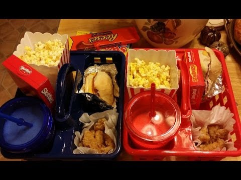 Kid's Movie Night Caddy
