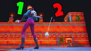 2 PLAYER DEATHRUN!! (Cizzorz & CourageJD Play NEW Fortnite Deathrun)